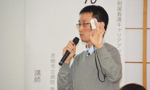 彦根市立病院 救急看護認定看護師 藤川真人 先生