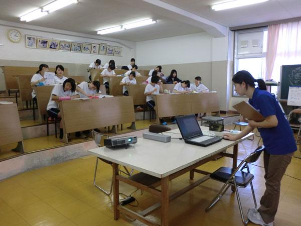 千田助教の講義の様子