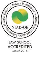 大学改革支援・学位授与機構による法科大学院認証評価結果について (大学の財務及び自己点検・評価活動状況)