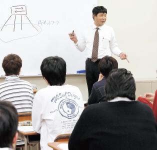 系列企業出身の講師陣によるきめ細かな授業