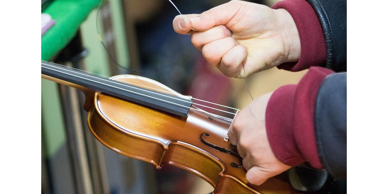 ヴァイオリン調整
