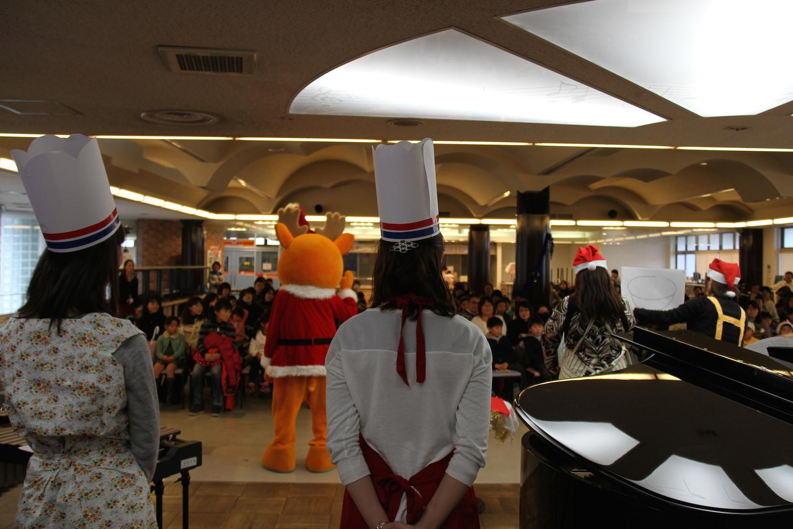 2013年度クリスマス会の様子①