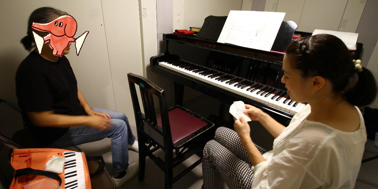 ピアノレッスン おばあちゃん