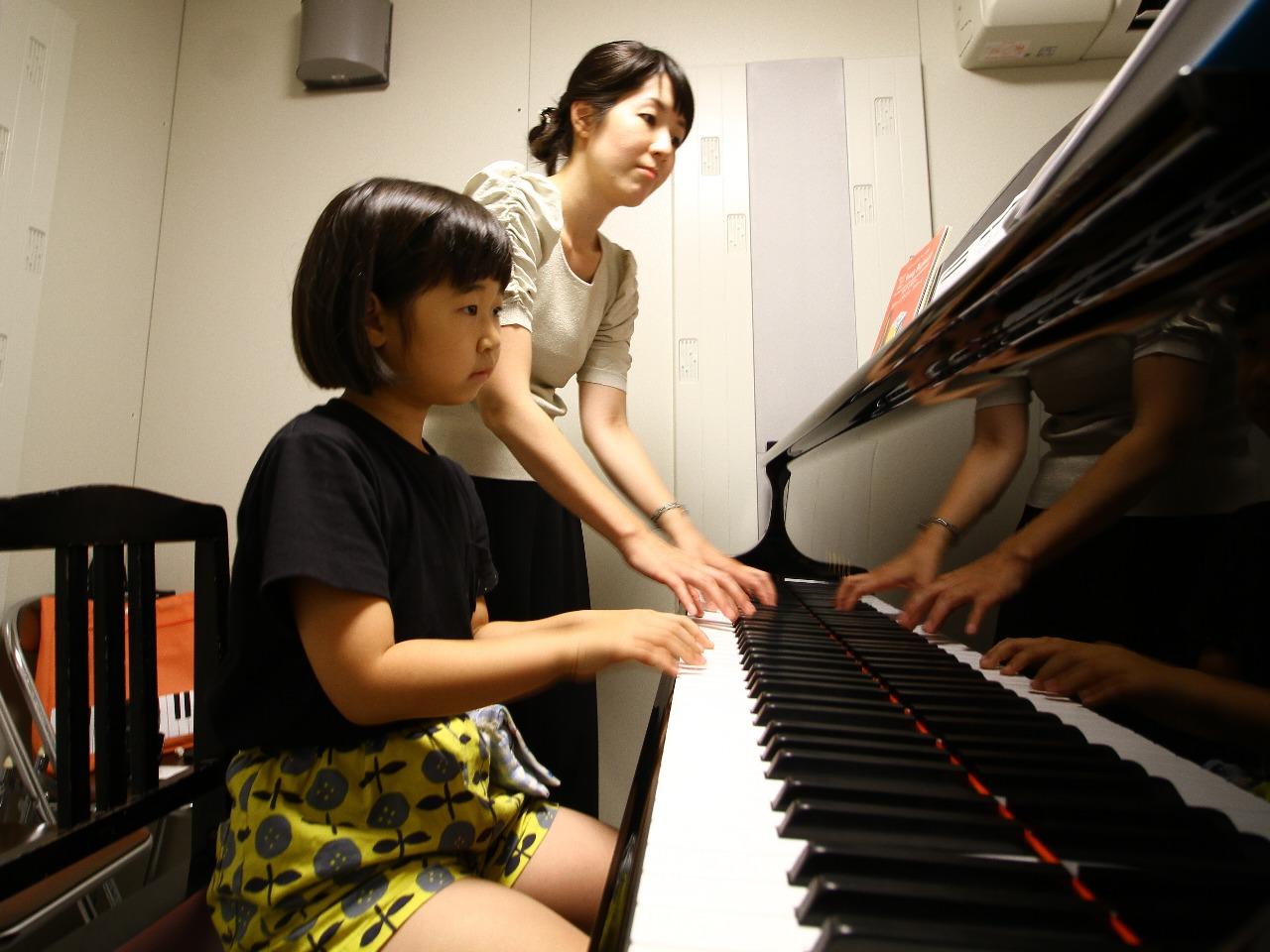 ピアノレッスン 代行講師