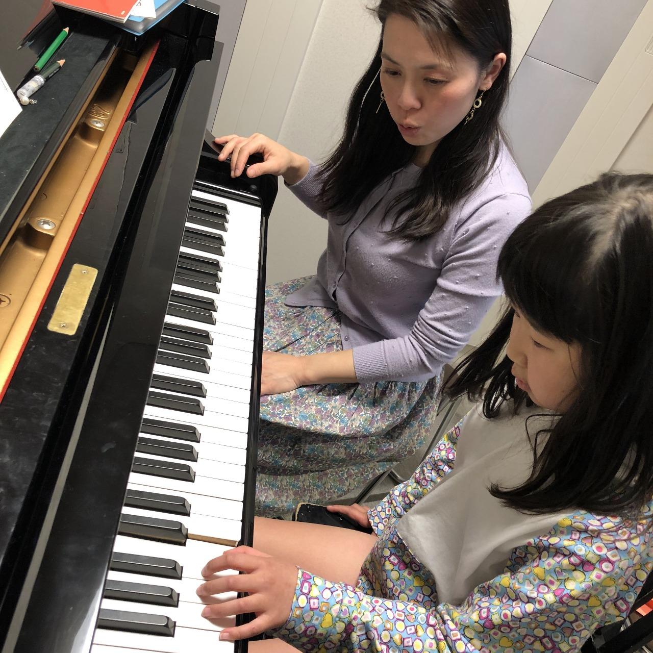 ピアノレッスン14回目