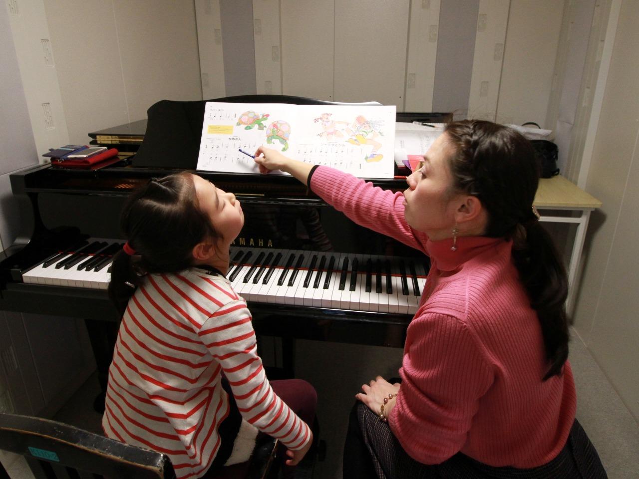 キッズレッスン<ピアノ>12回目のレッスン
