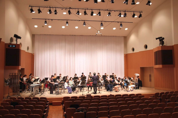 0歳からのファミリーコンサート~マッキ‐とおもいっきり吹奏楽~リハーサル